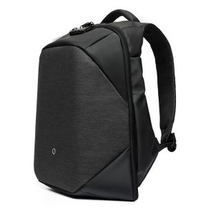 "15.6"" Kingsons Anti Theft dark grey smart backpack"